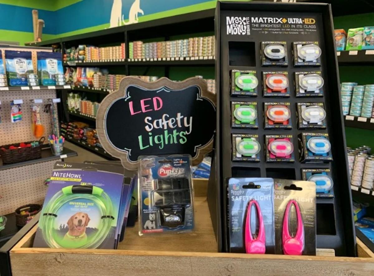 Reflective LED lights
