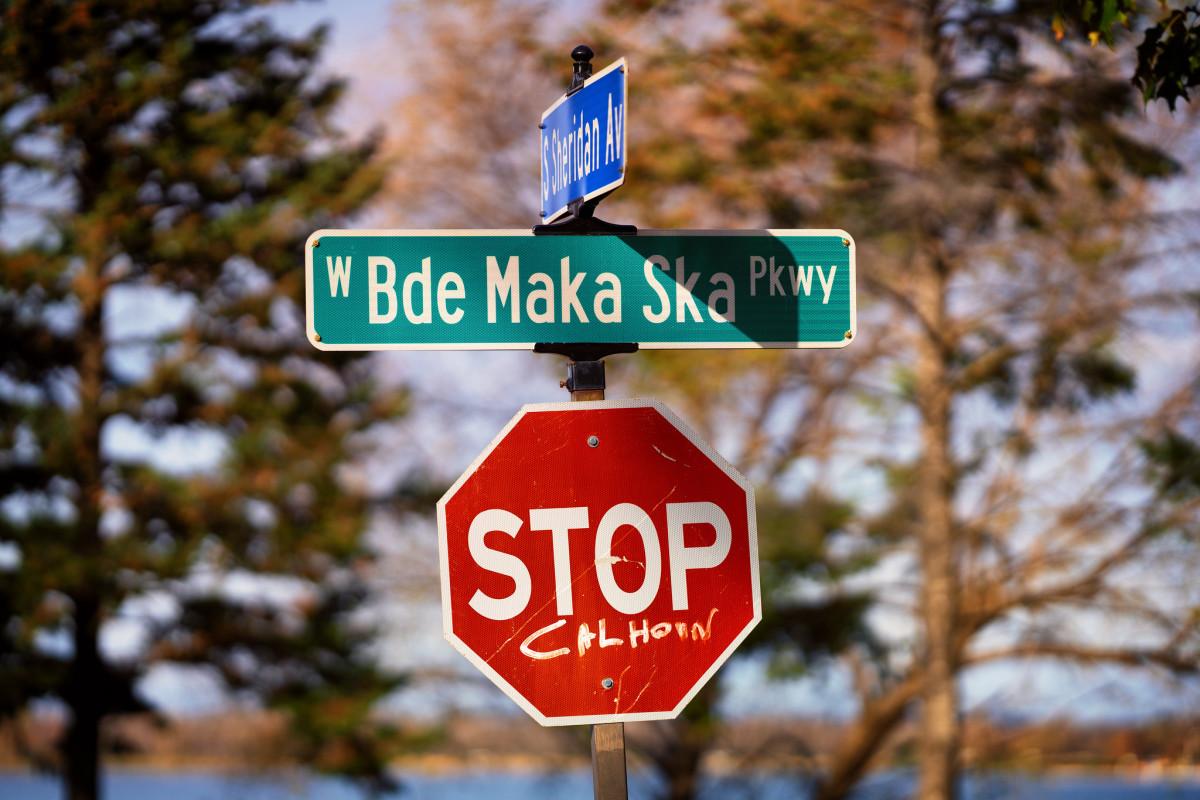 West Bde Maka Ska Parkway, West Maka Ska/Calhoun neighborhood.