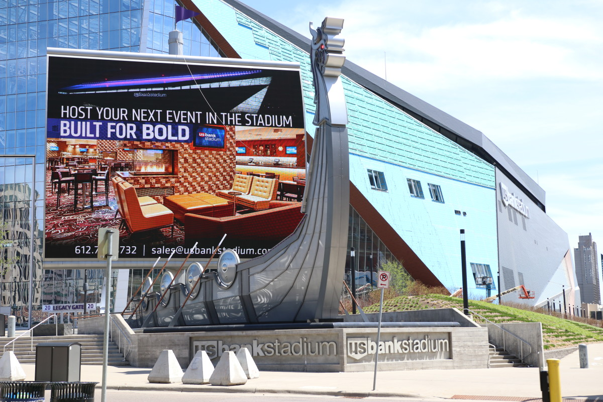 U.S. Bank Stadium Vikings