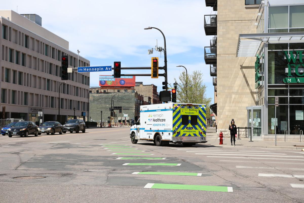 Ambulance Hennepin Healthcare