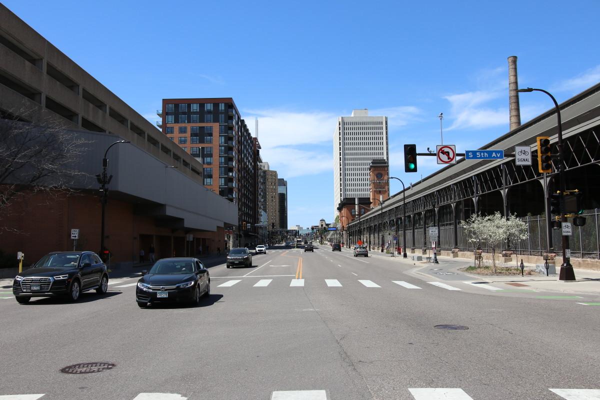Washington Avenue downtown Minneapolis