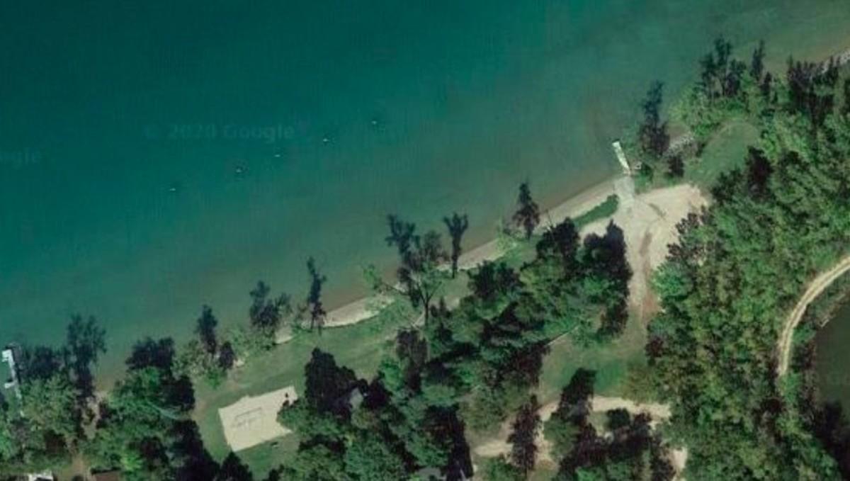 Eagle Lake beach