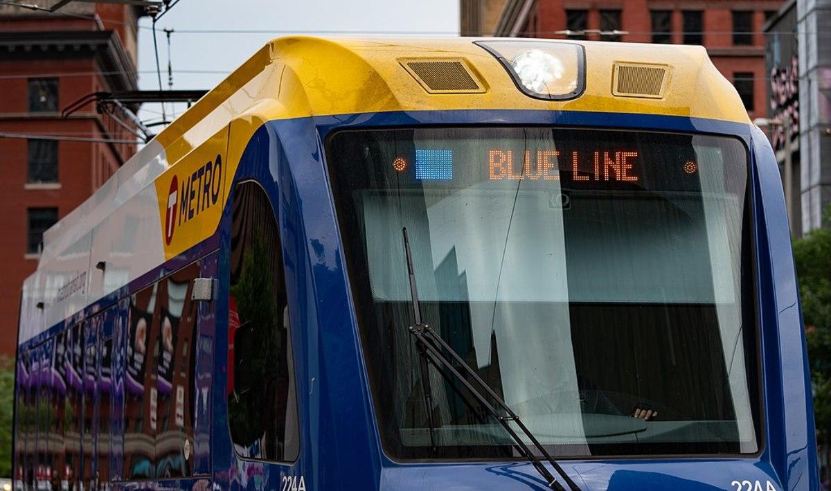 Blue Line light rail Metro Transit