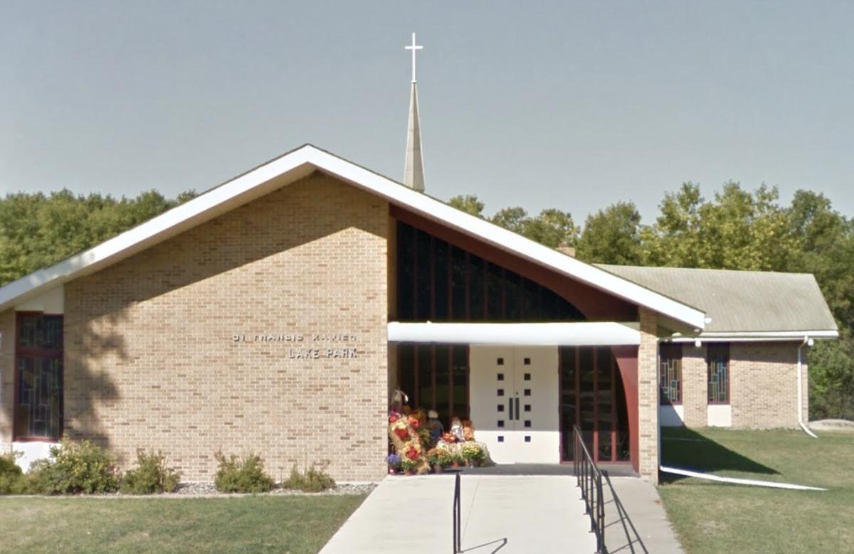 St. Francis Xavier Catholic Church in Lake Park.