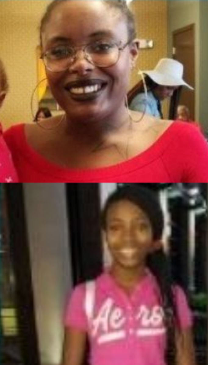 Canisha (top) and Makayla (bottom)
