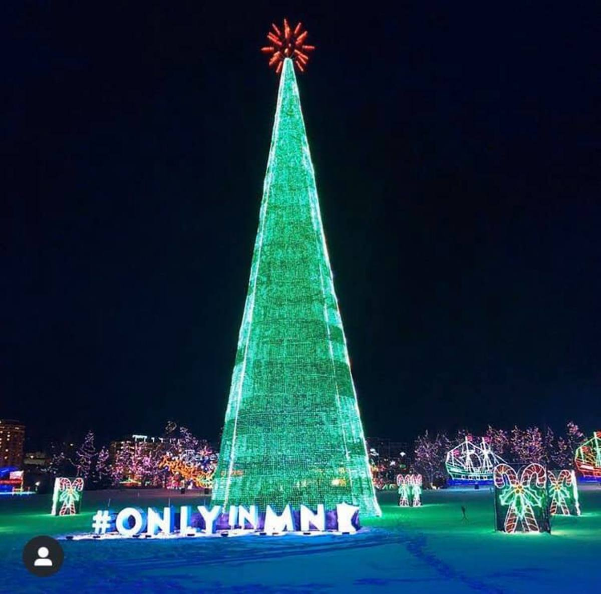 Bentleyville tree