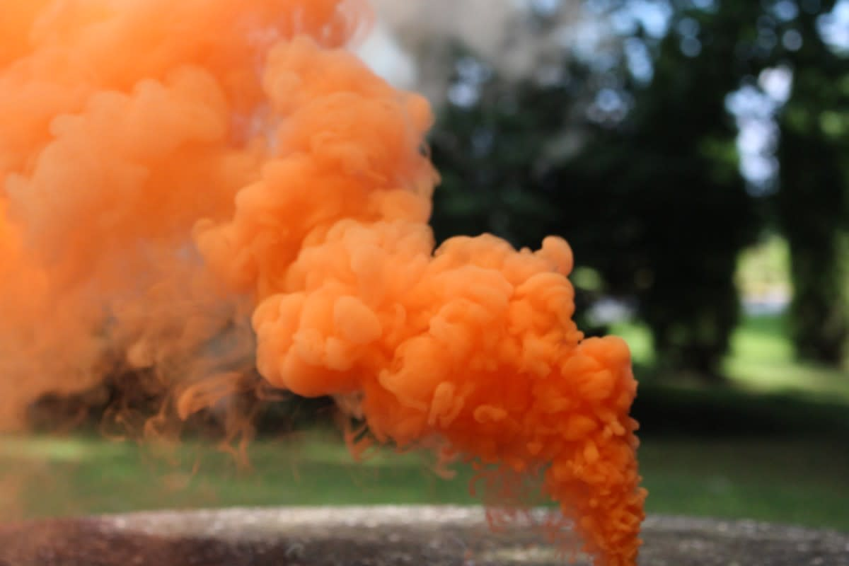 Kenneth Ray Miller built smoke bombs that looked similar to this, among other pyrotechnics, at his Bronwsville farm, according to court documents and a Popular Science article on him.