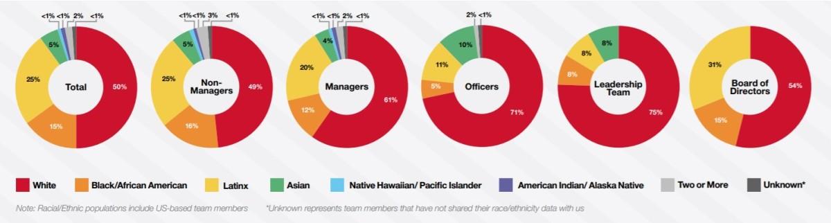 target diversity stats