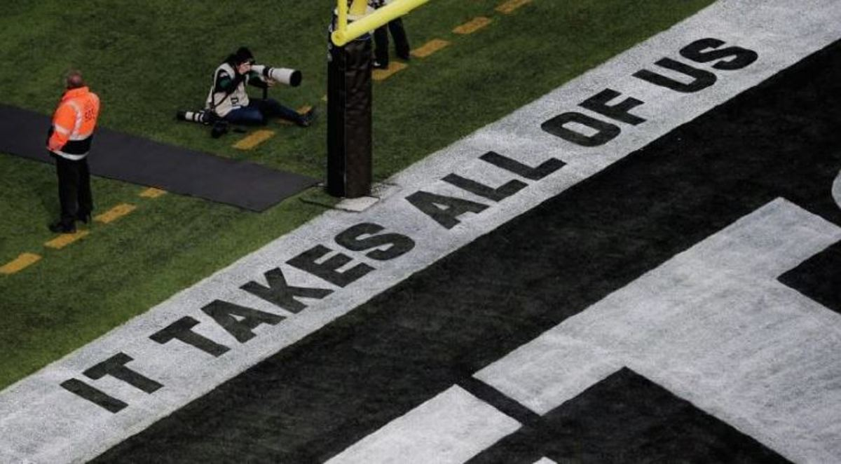 End Zone Markings