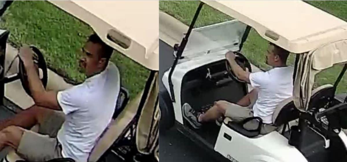 golf cart thefts - edit