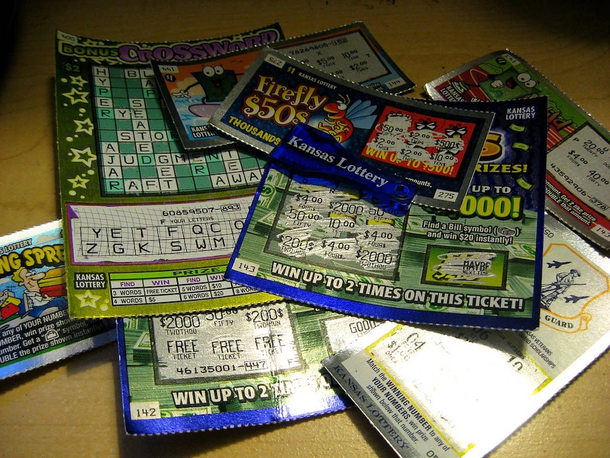 scratch lottery ticket