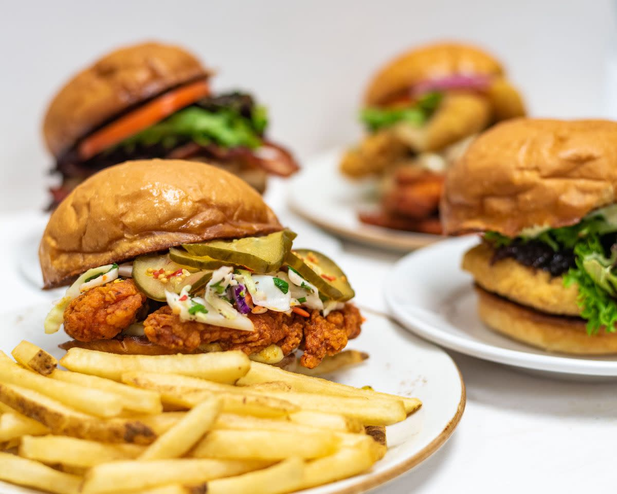 chicken sandwiches - kenwood food and beverage