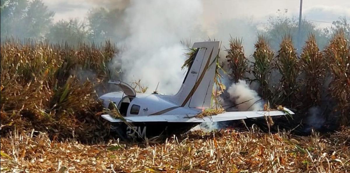 Lake Elmo plane crash.