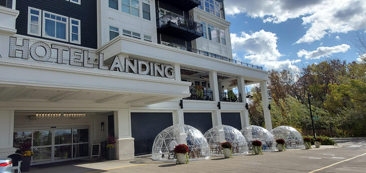 Wayzata restaurant adds igloos to extend the outdoor dining season