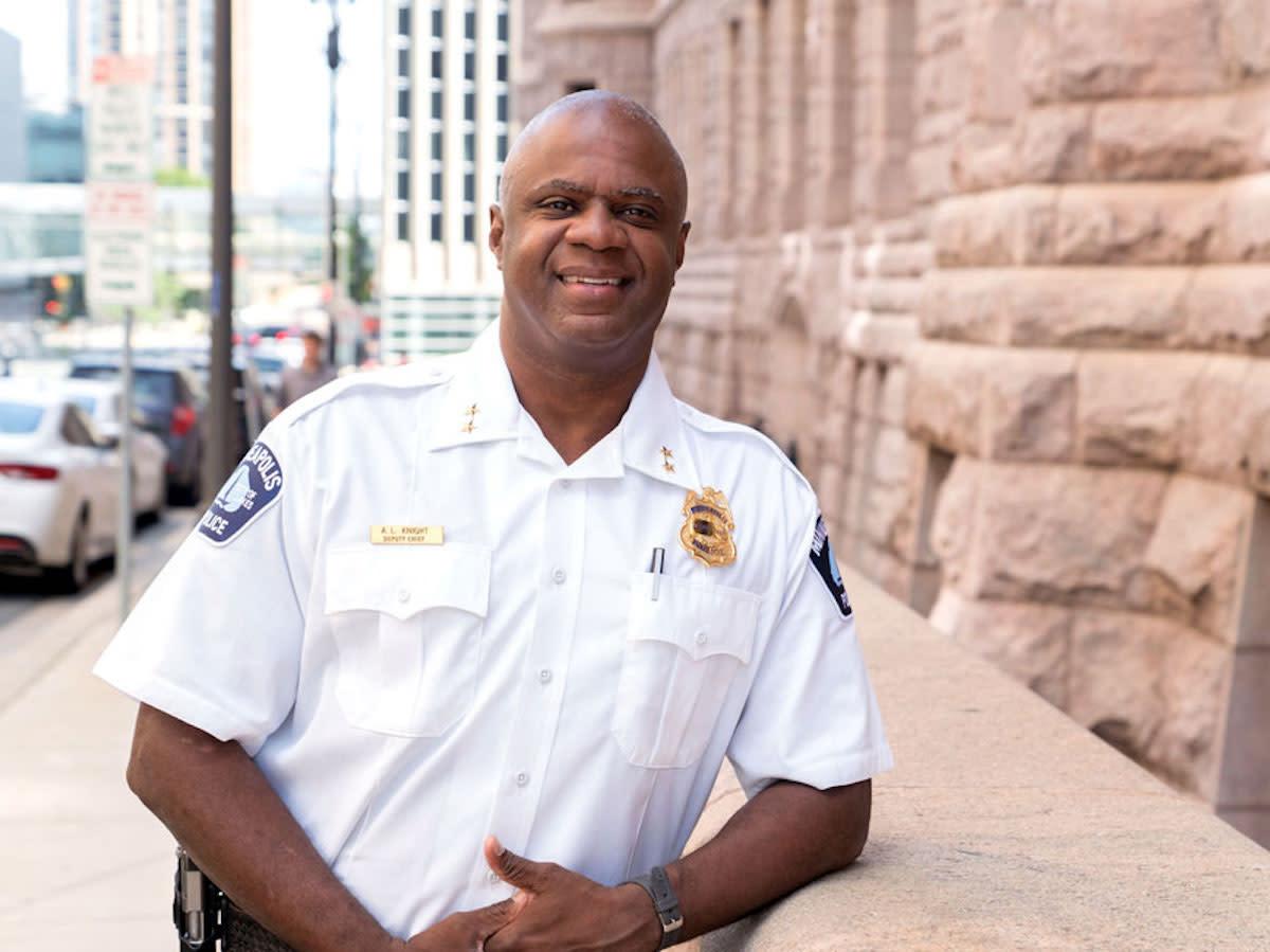 Minneapolis police - Art Knight