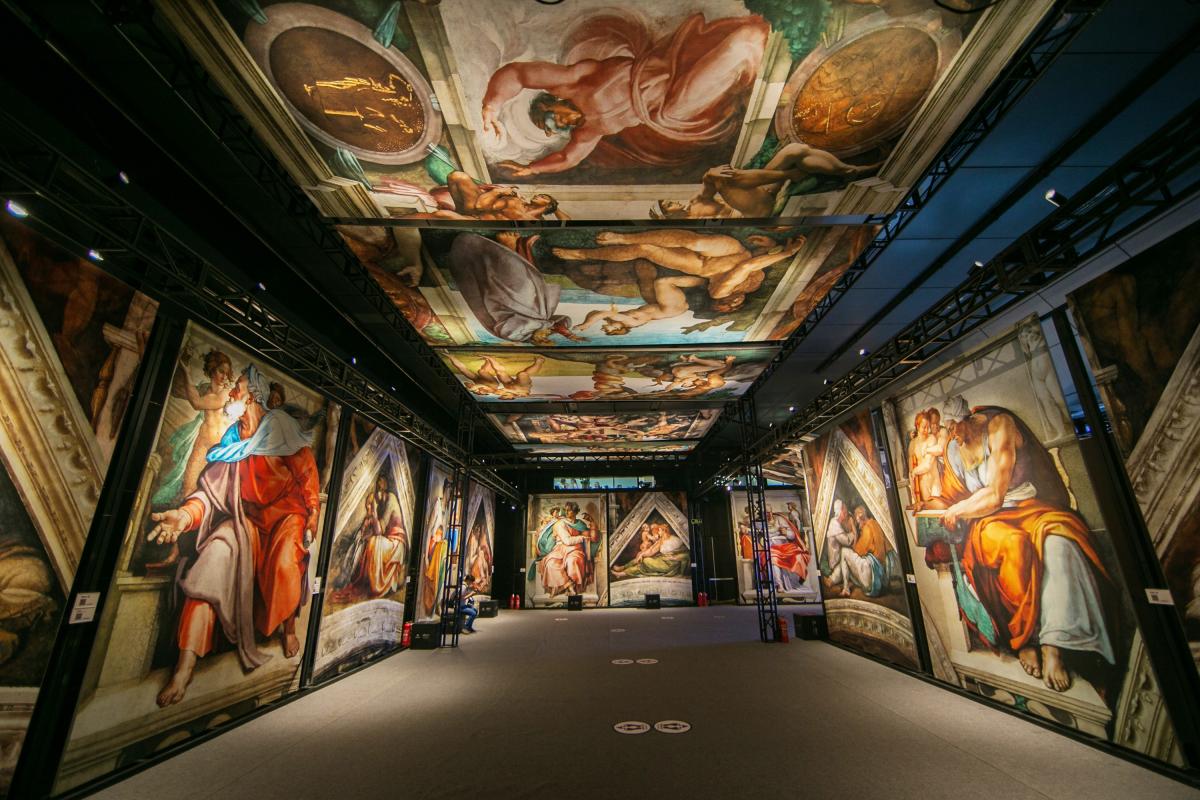 Photo courtesy Sistine Chapel: The Exhibition