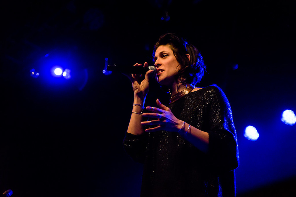Dessa performing at First Avenue