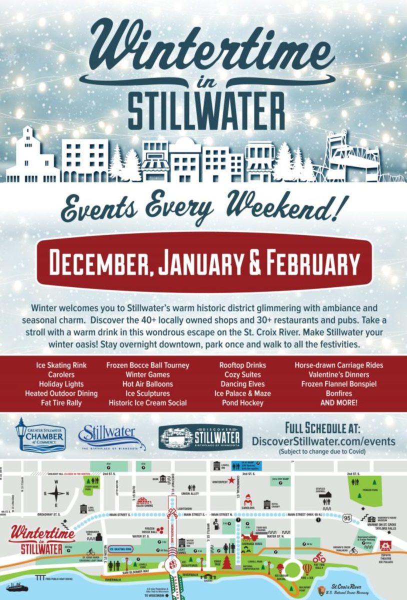 winter in stillwater poster