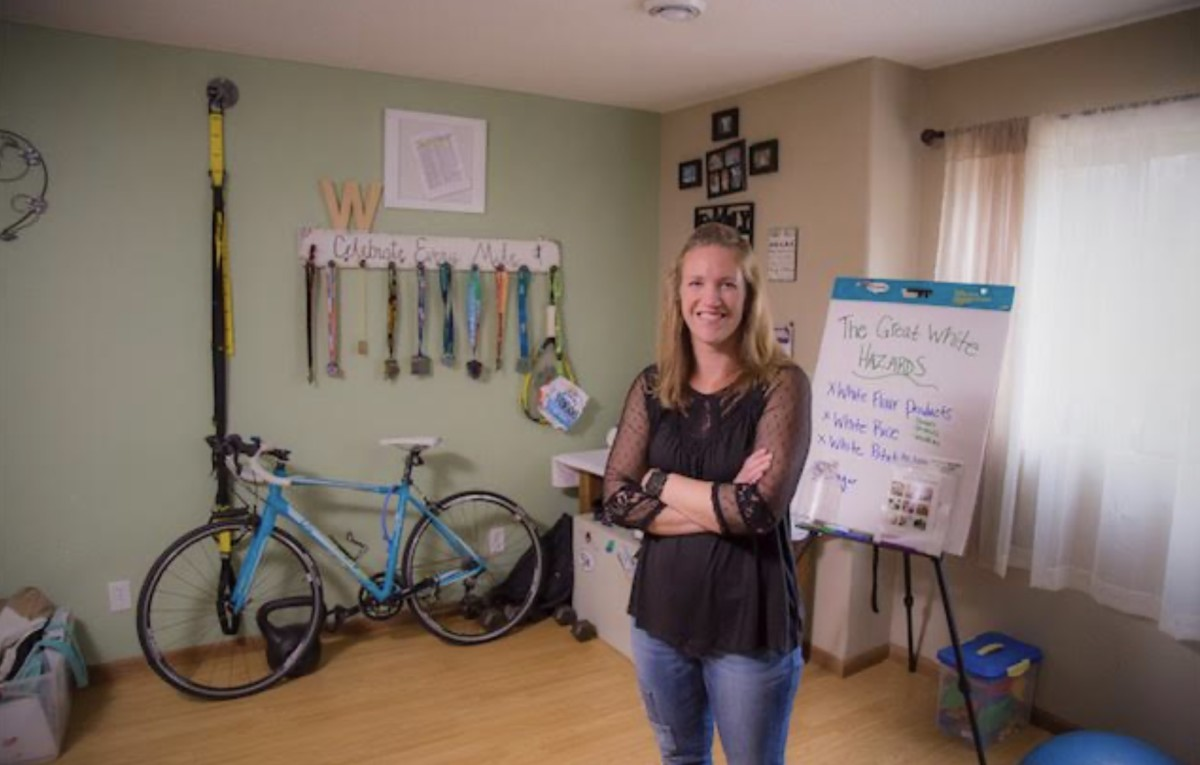 Jessica Waytashek landed a job as the health and wellness coordinator before she even completed her degree.
