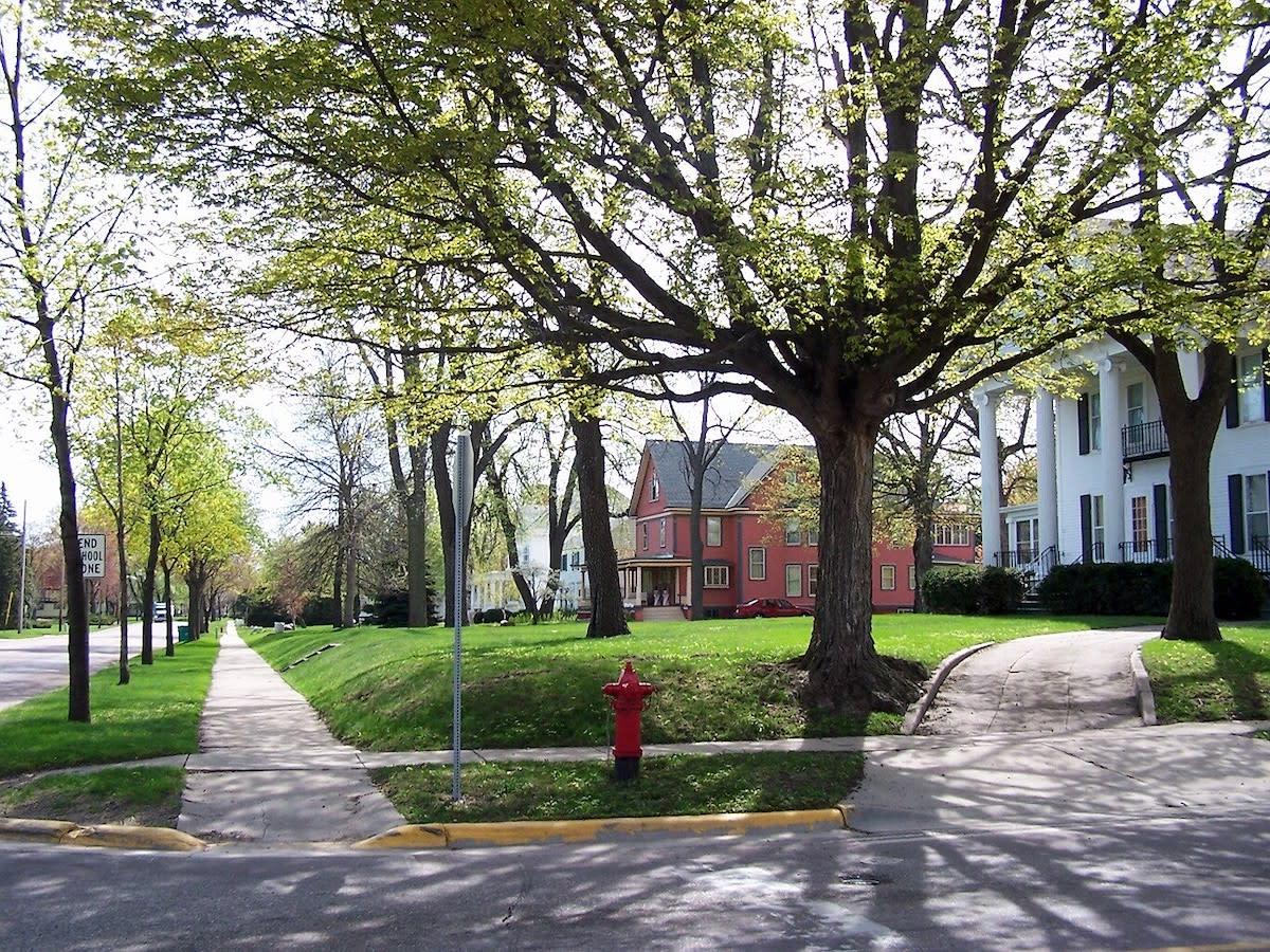 residential neighborhood homes