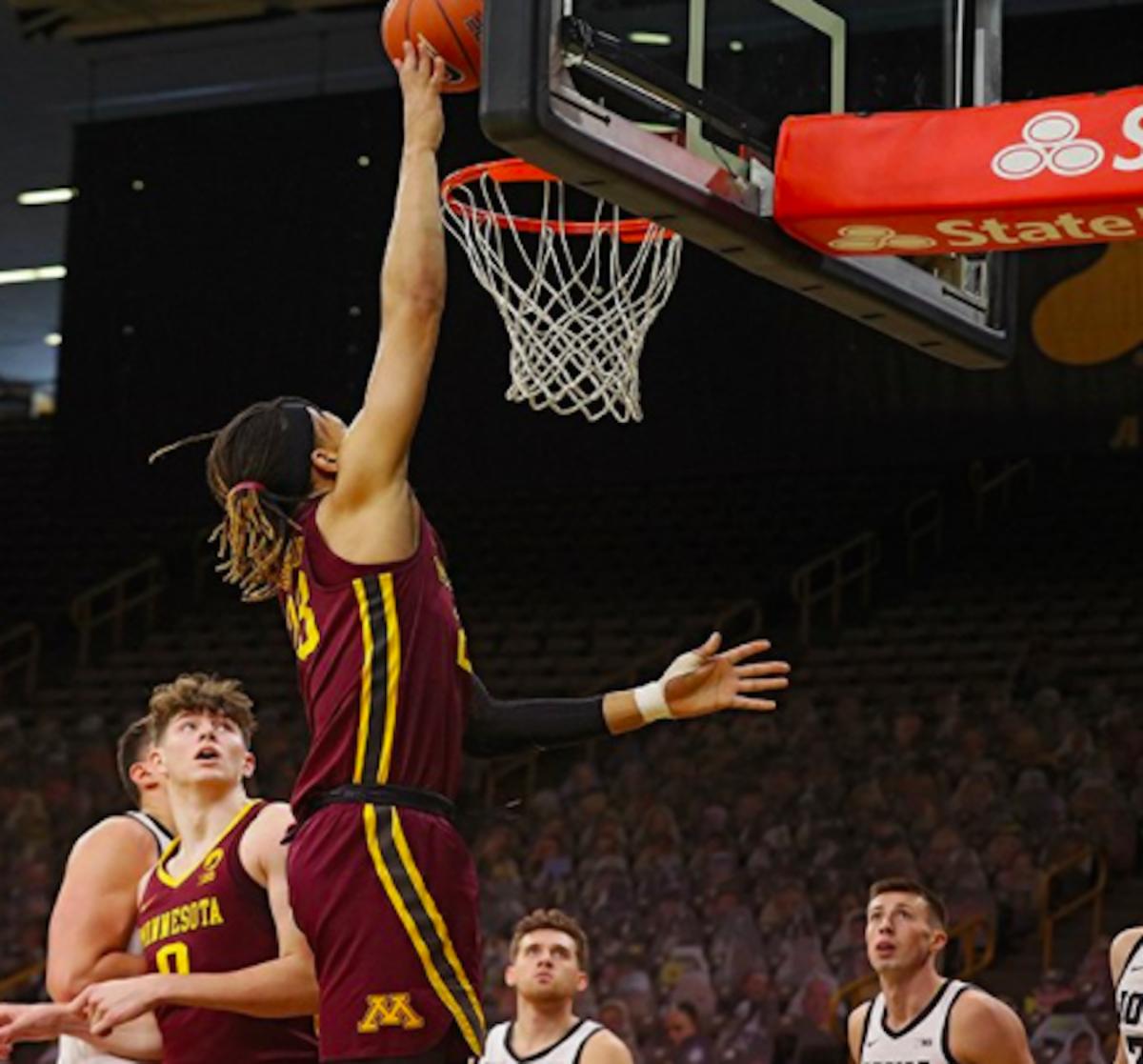 Brandon Johnson/Gopher Basketball