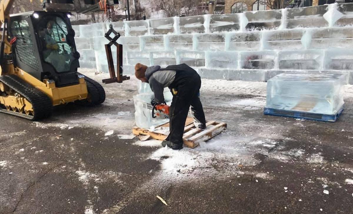 ice palace maze stillwater