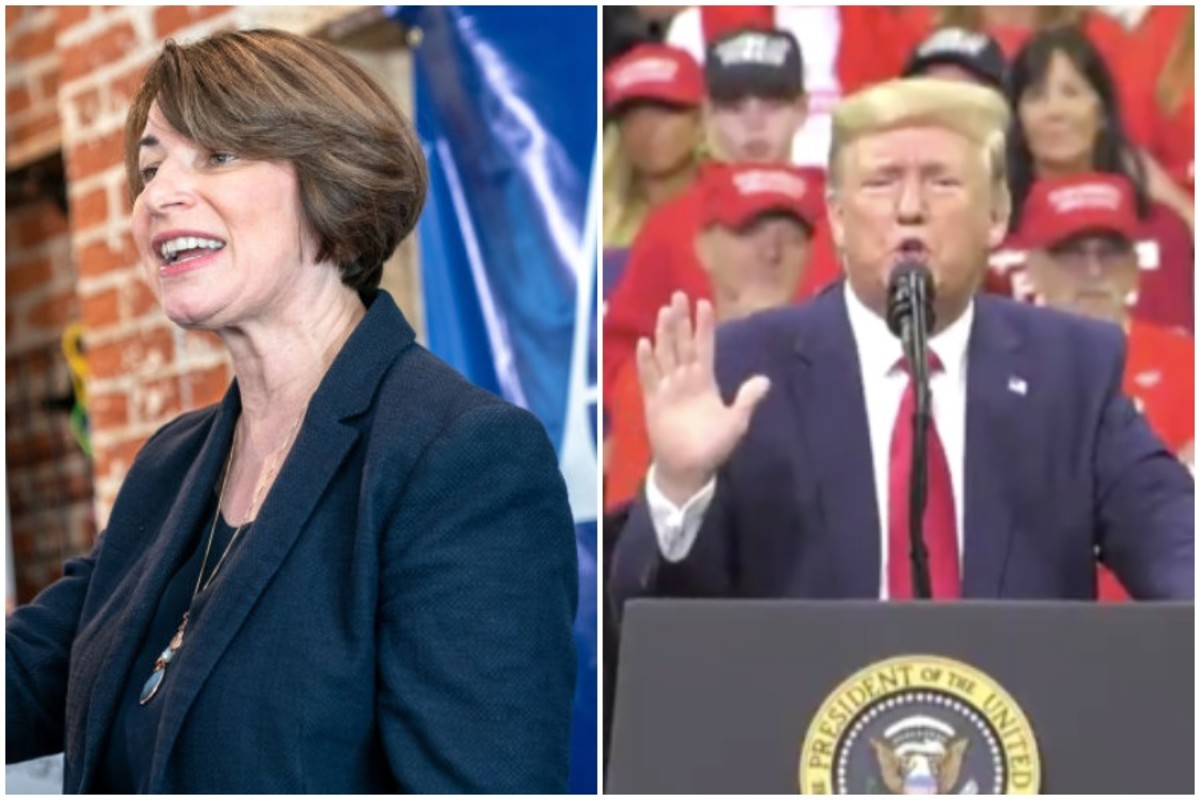 Klobuchar and Trump