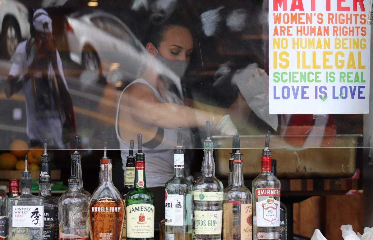 covid, bars