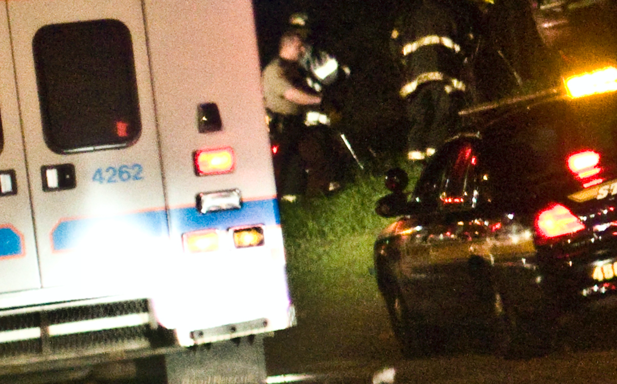 ambulance, crash