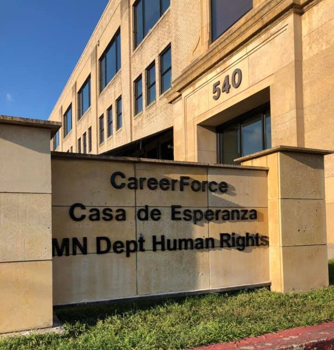 The St. Paul office for the Minnesota Department of Human Rights