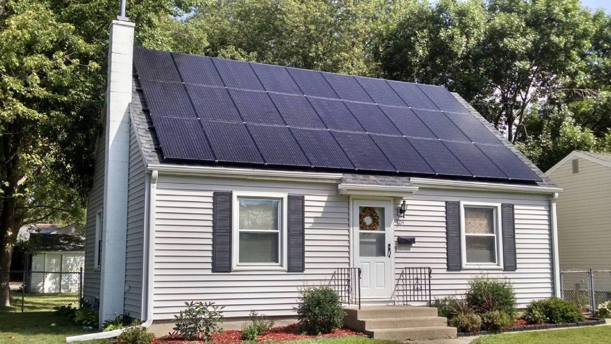 A solar installation is one of the few home improvements that truly pays for itself.
