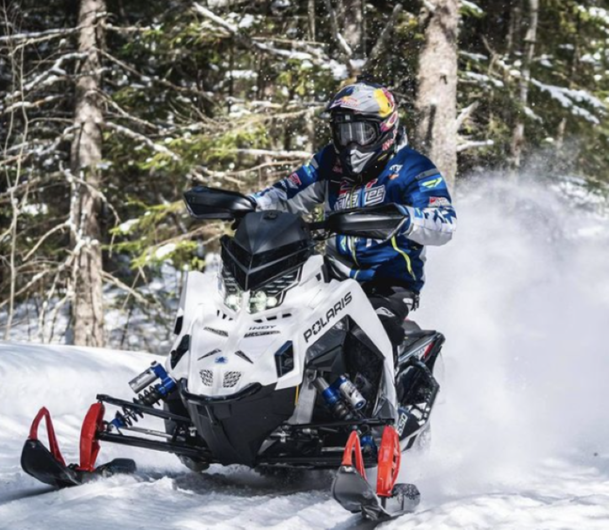 Snowmobile champion rescued after stunt mishap landed him in Lake Superior