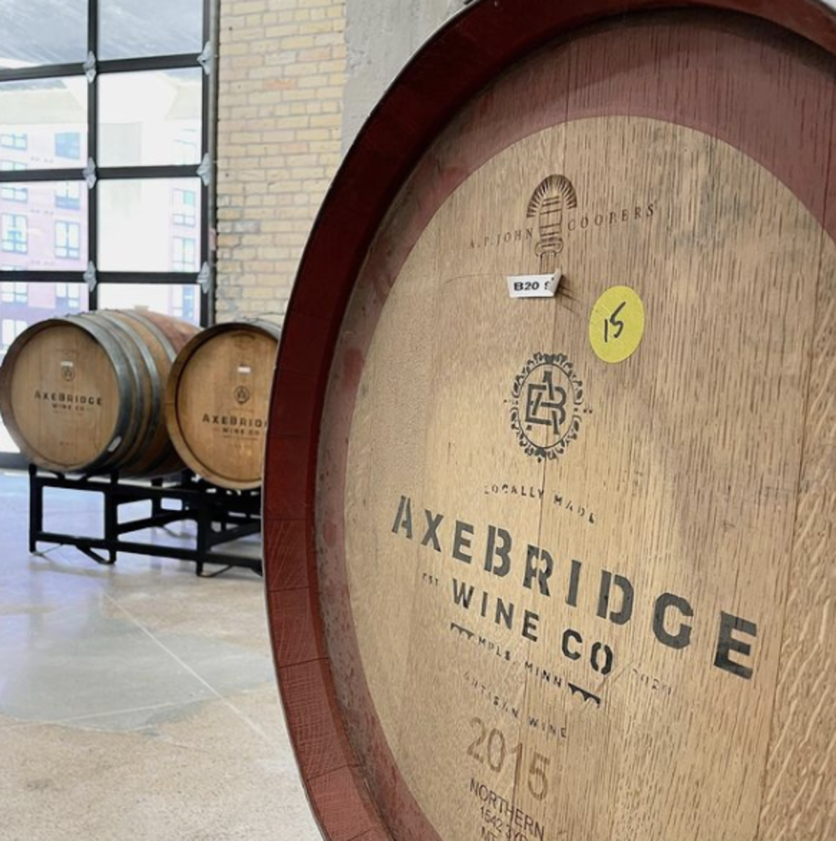 Full production winery set to open in Minneapolis this month