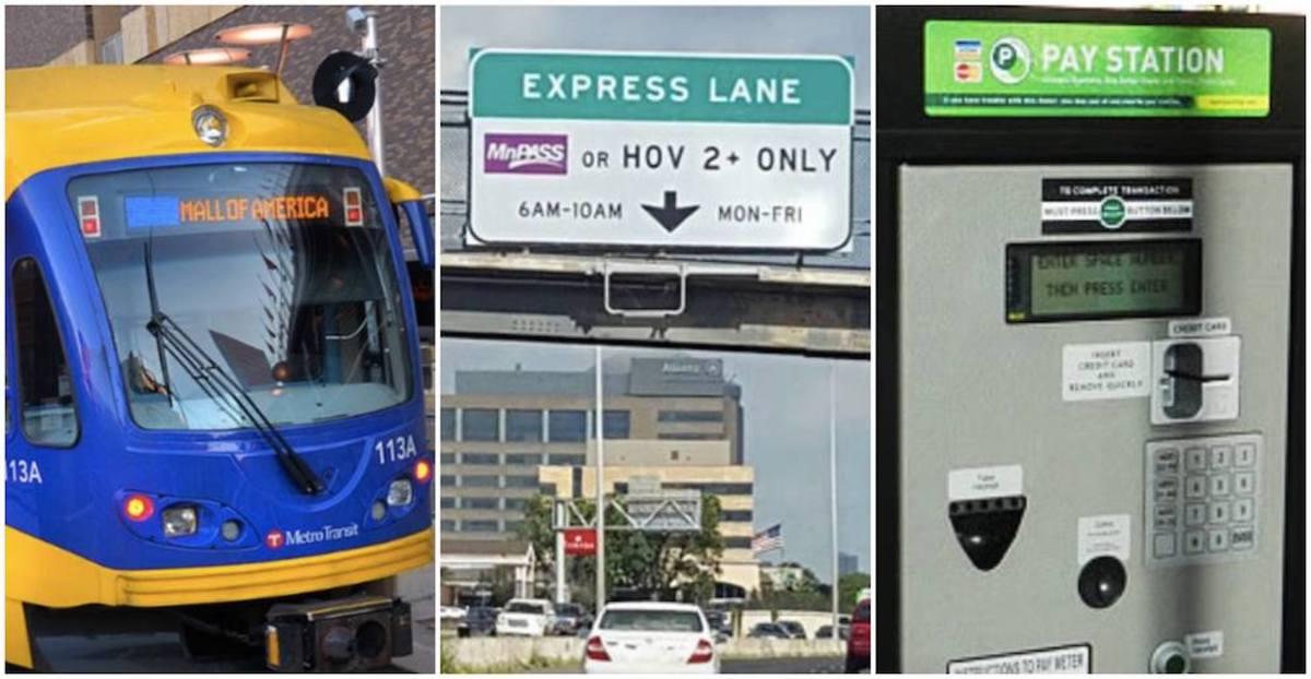 Transit parking mnpass