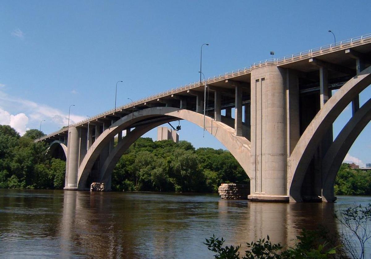Franklin Avenue Bridge over the Mississippi