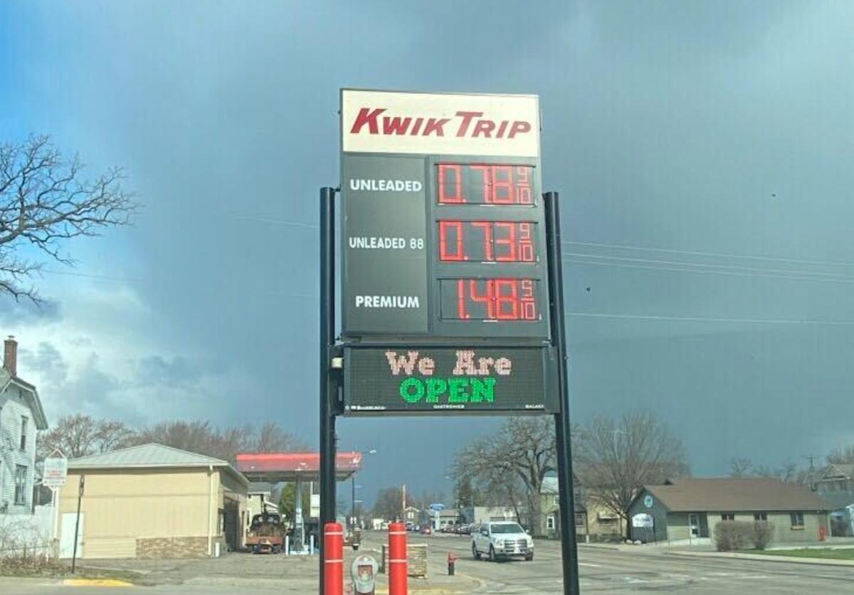 Lake City, cheap gas prices