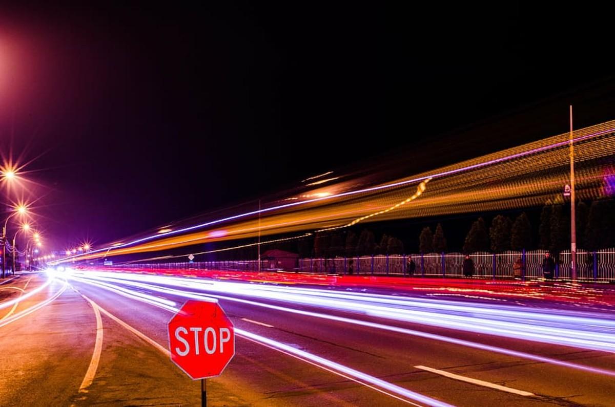 Illegal speed limit car