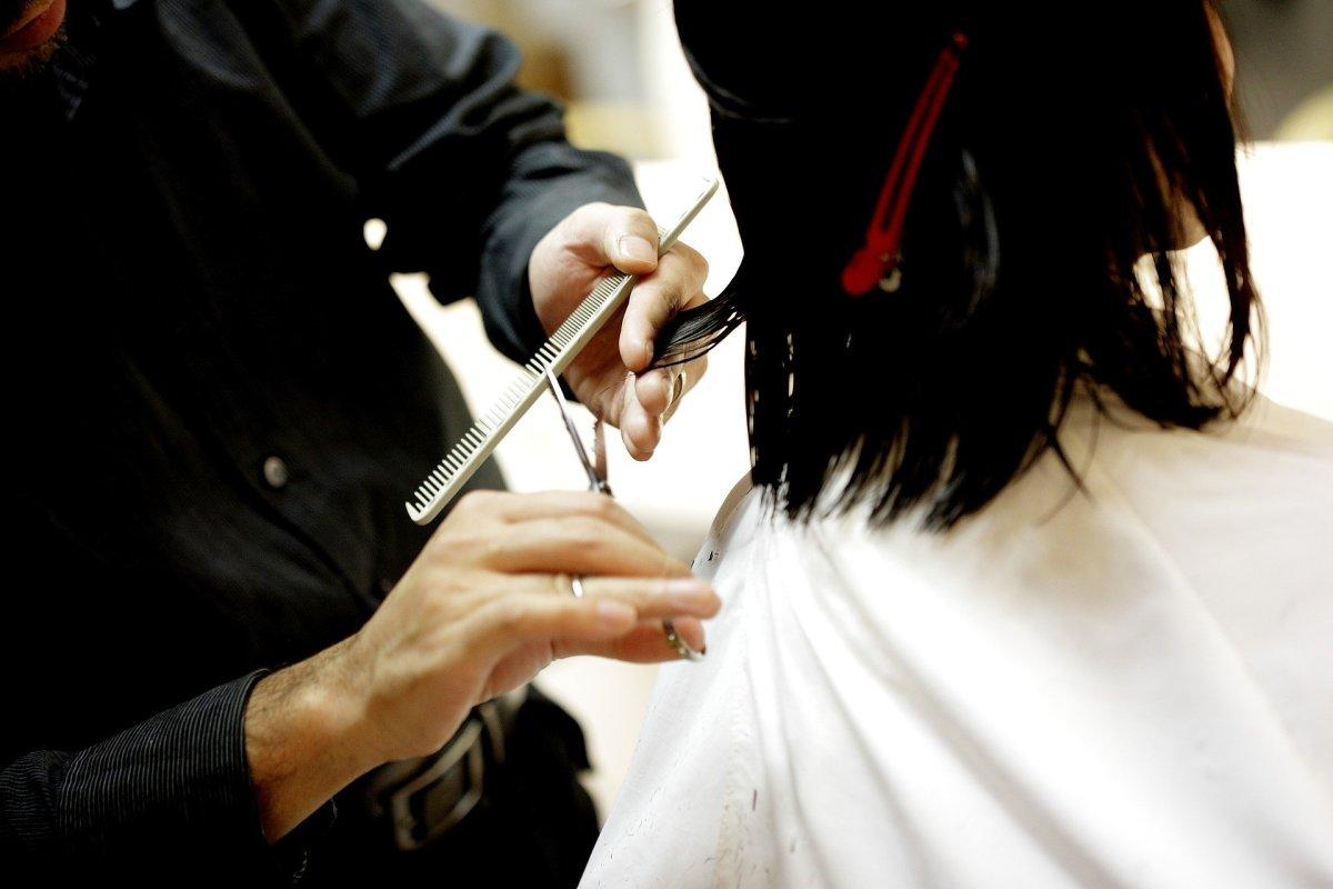 haircut, hair salon