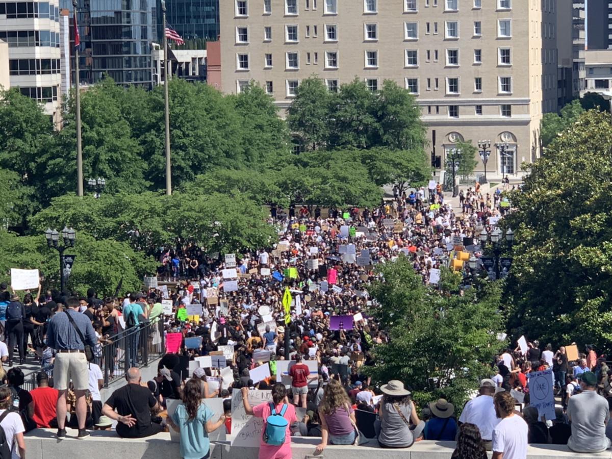 Protests in Nashville, Tn.