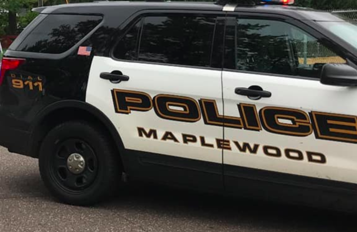 Maplewood police cruiser.