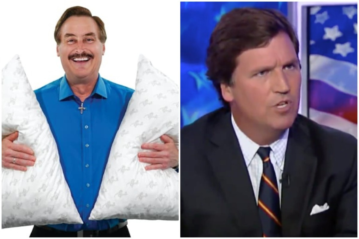 Mypillow Guy Sticks With Tucker Carlson After Other Advertisers Quit Bring Me The News