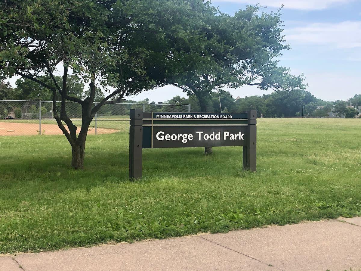 George Todd Park sin Minneapolis.