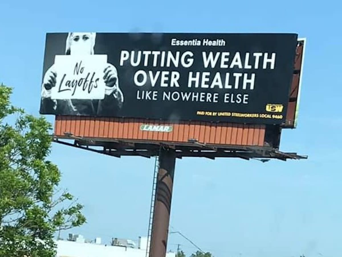 health care billboard