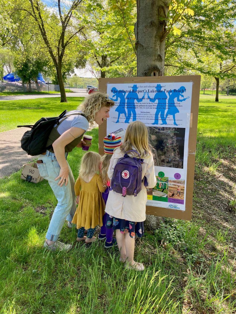 A family investigates pollution in Bayport