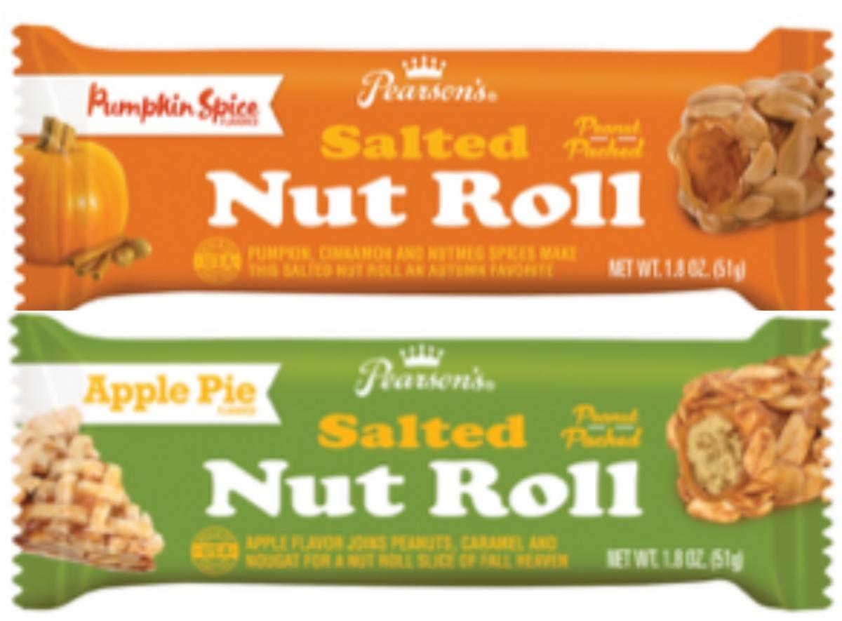 Salted Nut Roll variants