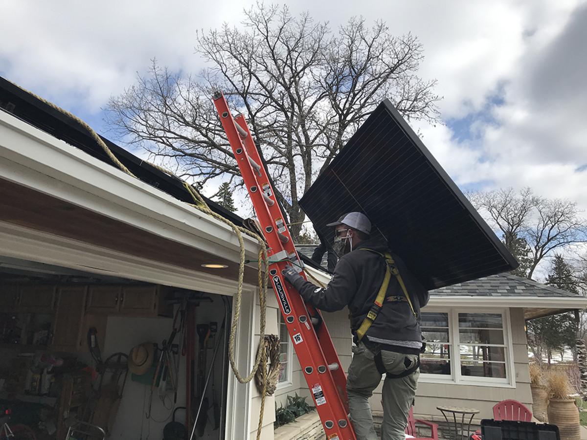 Bring Me The News - All Energy Solar - Earth Day Solar Installation