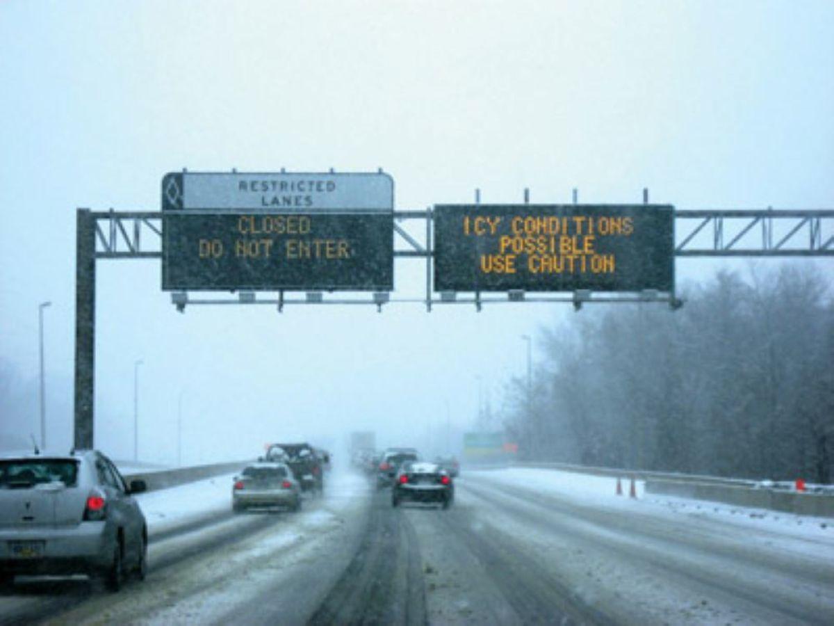 mndot winter highway dms alert