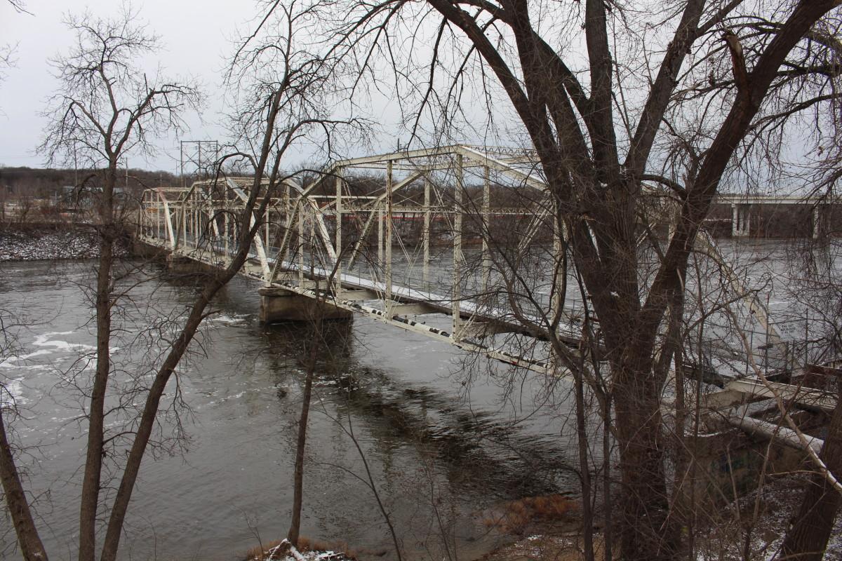 The Old Sartell Bridge.