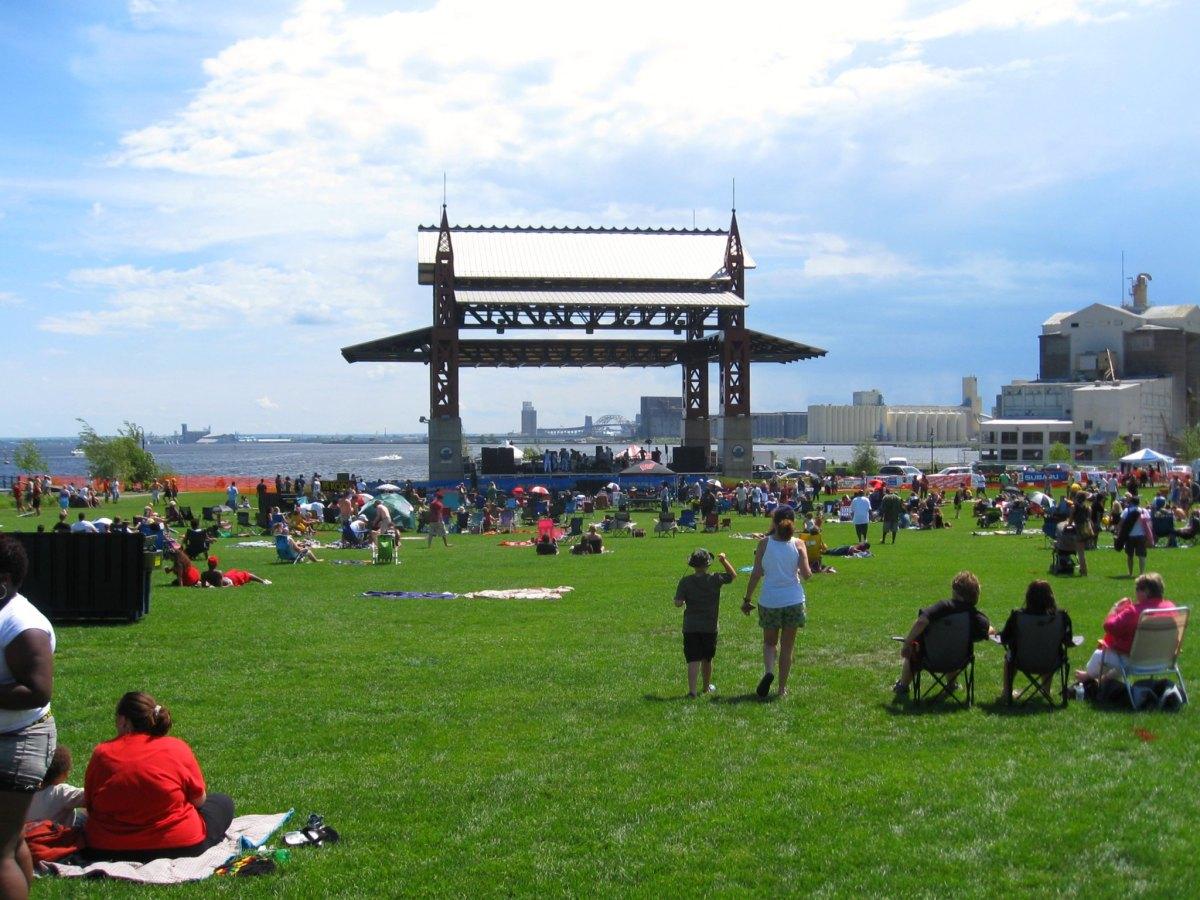 Bayfront Festival Park in Duluth.