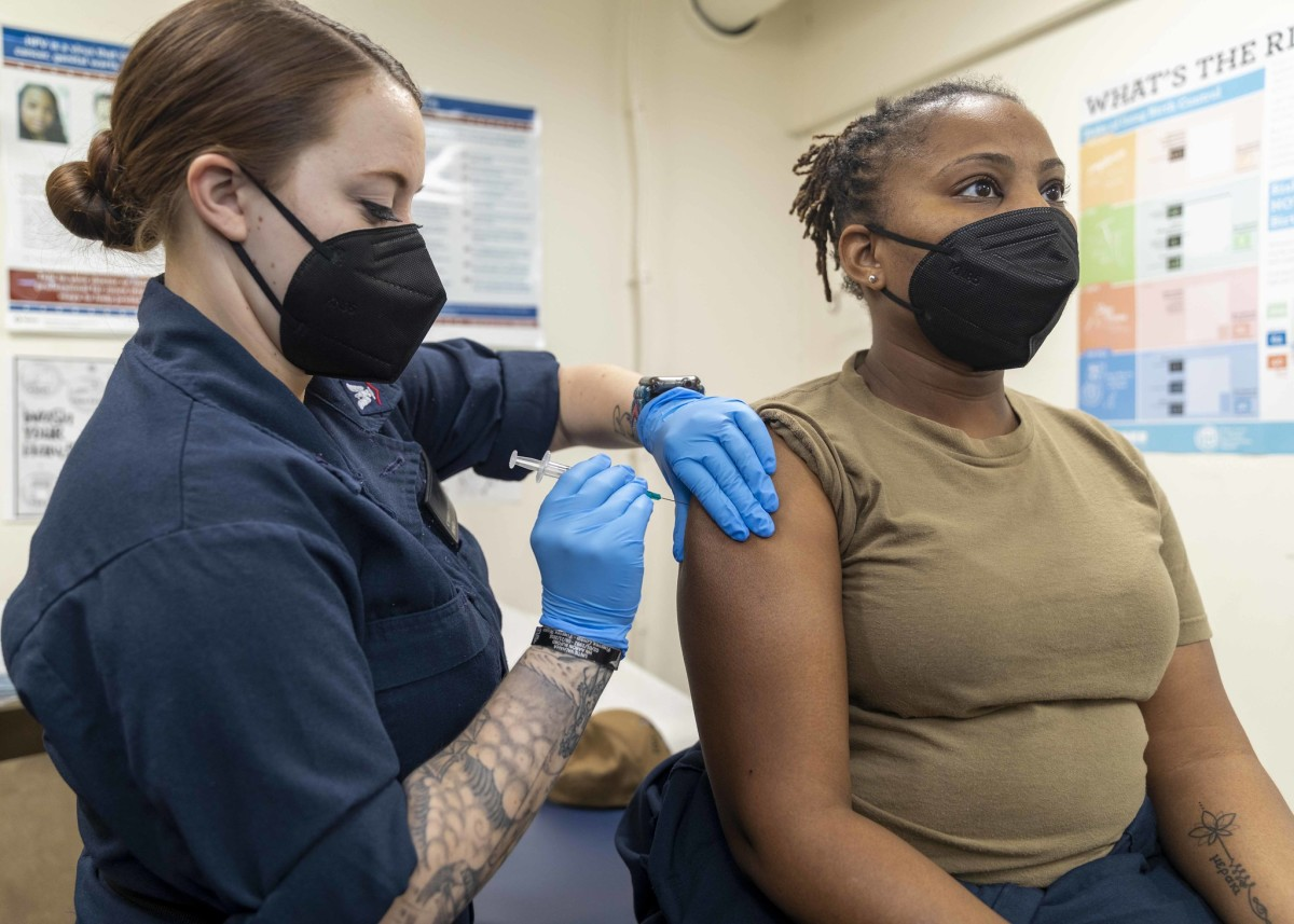 FLickr - COVID-19 vaccination - Commander, U.S. Naval Forces